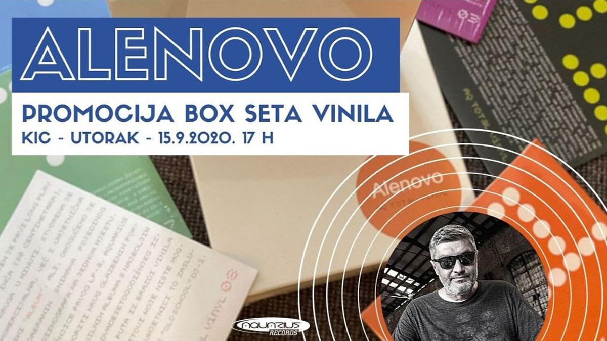 alenovo - promocija box set vinila - 2020