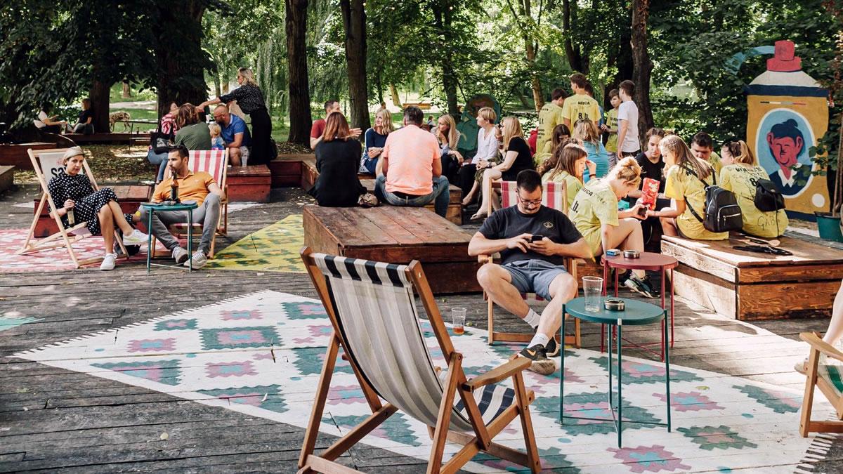art park zagreb - park ribnjak 2020