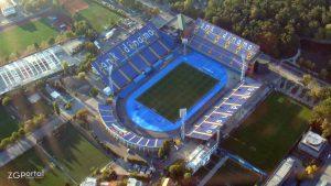 dinamo zagreb - stadion maksimir - arieal photo - rujan 2012.