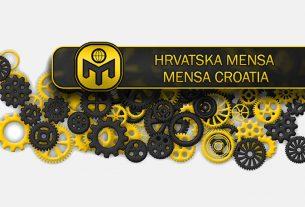hrvatska mensa / mensa croatia / logo 2019