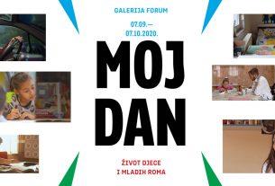 """izložba """"moj dan - život djece i mladih roma"""" - galerija forum zagreb - 2020"""