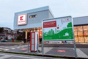 kaufland barutanski jarak zagreb 2020 - punionica za električna vozila