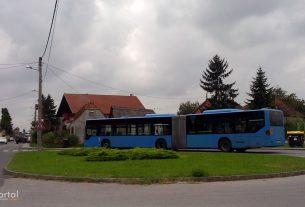 ulica struge 3, zagreb / okretište autobusne linije 217 / travanj 2014.
