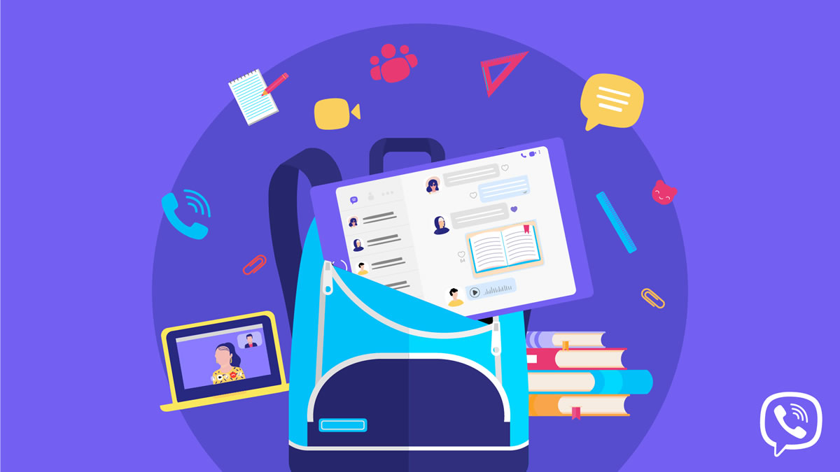 viber - back to school - 2020
