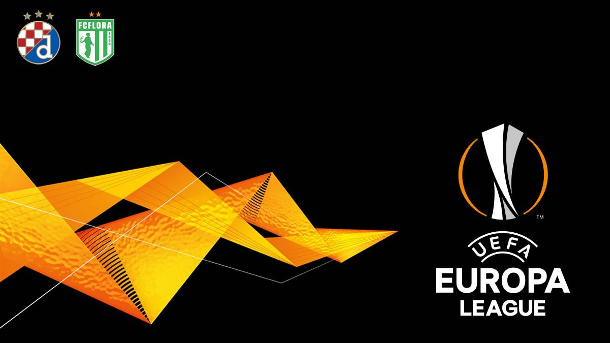 Dinamo Zagreb - FC Flora Tallin / UEFA Europa League 2020